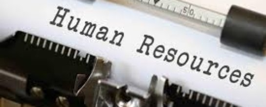 Human Resources typed on a page